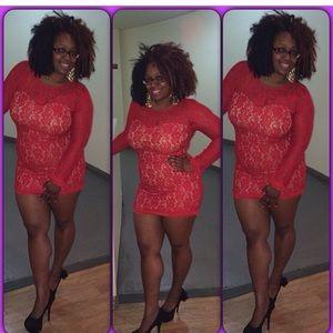 Express Lace Dress